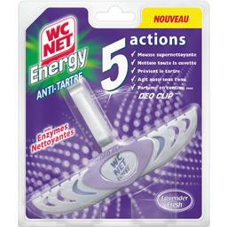 Energy - Bloc WC anti tartre 5 actions Lavender Fres...