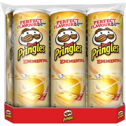 Pringles Snack emmental les 6 boites de 175 g