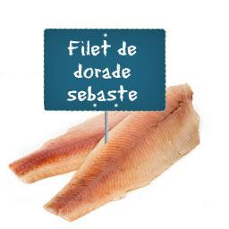 Filet de DORADE sebaste