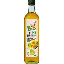 4 huiles vierges végétales BIO