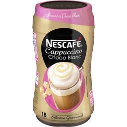 Nescafé Cappuccino Choco blanc soluble