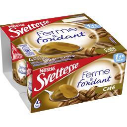 Nestlé Sveltesse Ferme & Fondant - Spécialité laitière café