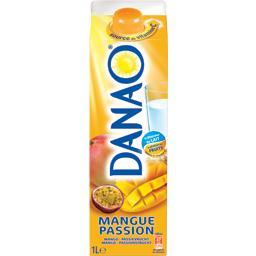 Jus lacté parfum pomme mangue passion