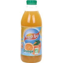 Boisson aux fruits non gazeuse orange BIO