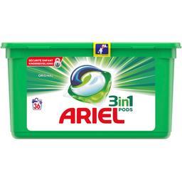 Ariel Ariel Lessive en capsules original 3en1 La boite de 36 capsules