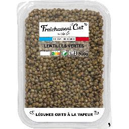 Lunor Fraîchement cuit by lunor Lentilles vertes La barquette de 300g