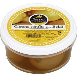 La Conquête des Saveurs La conquête des saveurs Citrons confits façon beldi La boîte de 200 gr environ