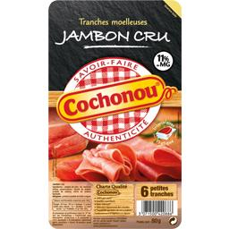 Jambon cru tranches moelleuses