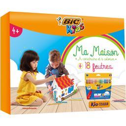 Kids - Kit maison à colorier