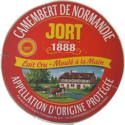 Jort Jort Camembert de Normandie AOP la boîte de 250g