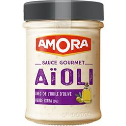 Amora Amora Sauce gourmet Aïoli le bocal de 182 g