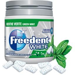 White - Chewing-gum menthe verte sans sucres