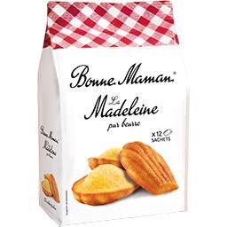 Bonne Maman Bonne Maman La Madeleine au beurre frais le paquet de 12 sachets - 300 g