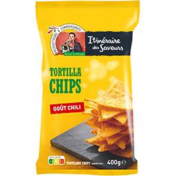 Chips tortilla goût chili