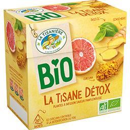 La Tisane Détox BIO saveur pamplemousse