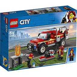 Lego Légo City - Le camion du chef des pompiers la boite