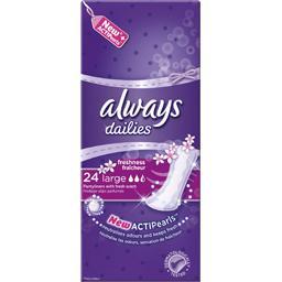 Dailies - Protège-slips Freshness Large