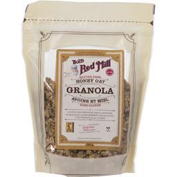Granola avoine et miel