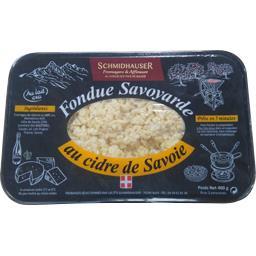 Fondue Savoyarde au cidre de Savoie