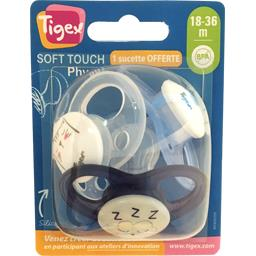 Sucette Soft Touch Physio silicone, 18-36 m