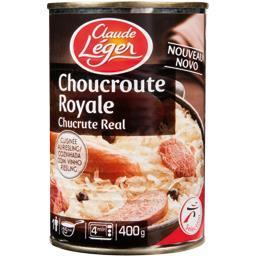 Choucroute royale cuisiné au Riesling