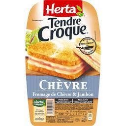Tendre Croque Chèvre ,HERTA,x2 200g