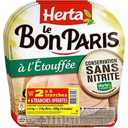 Herta Le Bon Paris - Jambon à l'Etouffée
