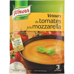 Knorr Knorr Soupe déshydratée velours de tomates à la mozzarella le sachet de 96 g