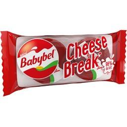 Babybel Mini fromage Cheese Break les 2 fromages de 20 g