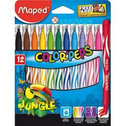 Feutres Color'peps Jungle