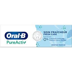 Oral B Oral B Dentifrice Pureactiv soin fraîcheur Le tube de 75ml