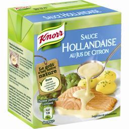 Sauce Hollandaise au jus de citron