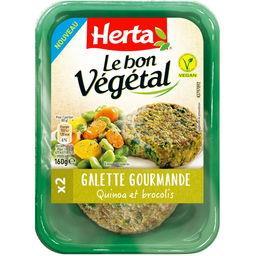 Le Bon Végétal - Galette gourmande quinoa et brocoli...