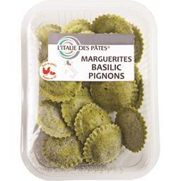 Marguerites basilic pignons