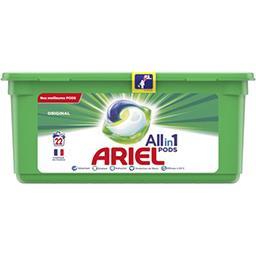 Ariel Ariel All in 1 pods, lessive en capsules, original La boîte de 22 lavages