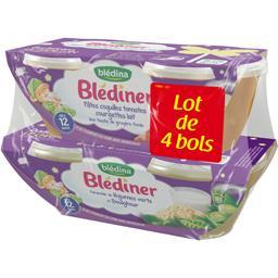 Blédîner - Farandole de légumes verts et boulghour, ...
