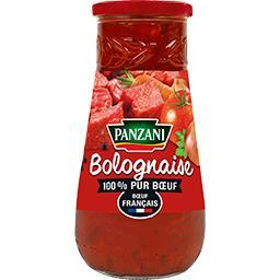Panzani Panzani Bolognaise 100% pur bœuf le pot de 650 g