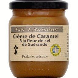 Crème de caramel à la fleur de sel de Guérande