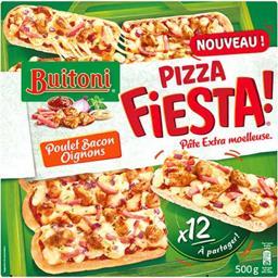 Fiesta ! - Pizza poulet bacon oignons