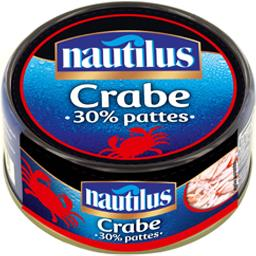 Crabe 30% pattes