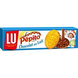 Pépito - Biscuits nappés au chocolat au lait