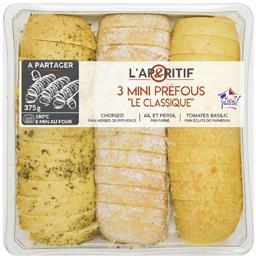 Mix Buffet Notre sélection Mini Préfou Le Classique la barquette de 375 g