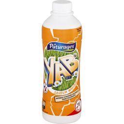 Pâturages Yaourt à boire Yab saveur mangue la bouteille de 850 g