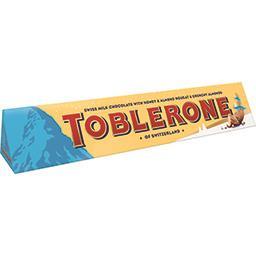 Toblerone Toblerone Chocolat au lait amandes salées la boite de 360 g