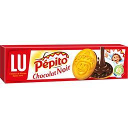 Pépito - Biscuits nappés au chocolat noir