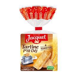 Tartine P'tit Déj à toaster complet