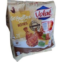 Volaé Grignottes de poulet rôties les 2 sachets de 250 g