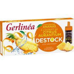 Gerlinéa Gerlinéa Complément alimentaire concentré ananas les 7 bouteilles de 10 ml