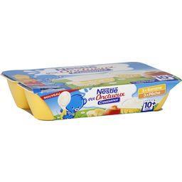 Nestlé Nestlé Bébé P'tit Onctueux Croissance - Desserts banane/pêche, 10+ mois les 6 pots de 60 g