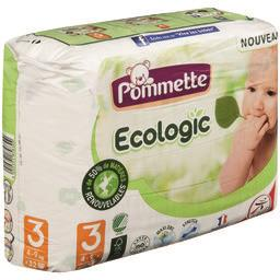 Couches Ecologic, Taille 3 : 4-9 kg